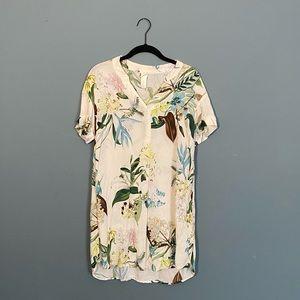 SO cute 🌺 floral tunic x H&M